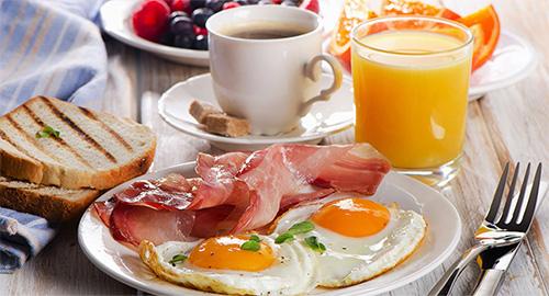 Có bữa sáng nhiều protein