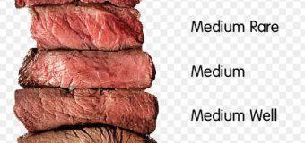 Các thuật ngữ khi đi ăn beefsteak