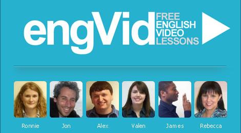 Trang web học tiếng Anh EngVid