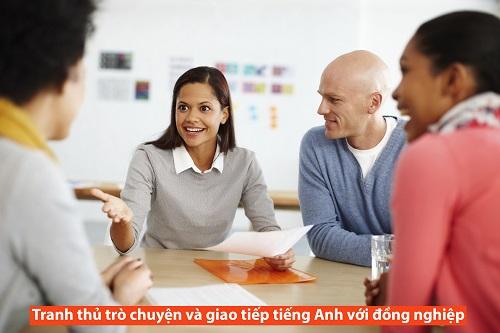 Giao tiếp tiếng Anh với đồng nghiệp bạn bè