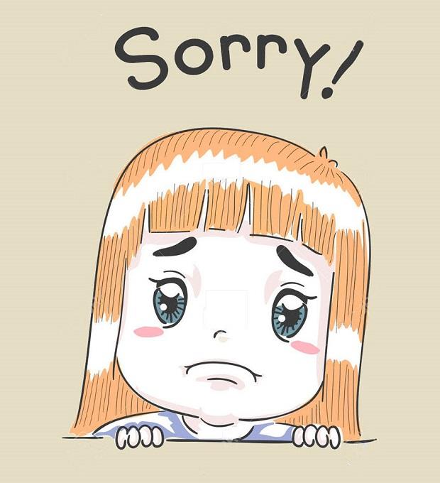Những mẫu câu tiếng Anh giao tiếp chủ đề Xin lỗi