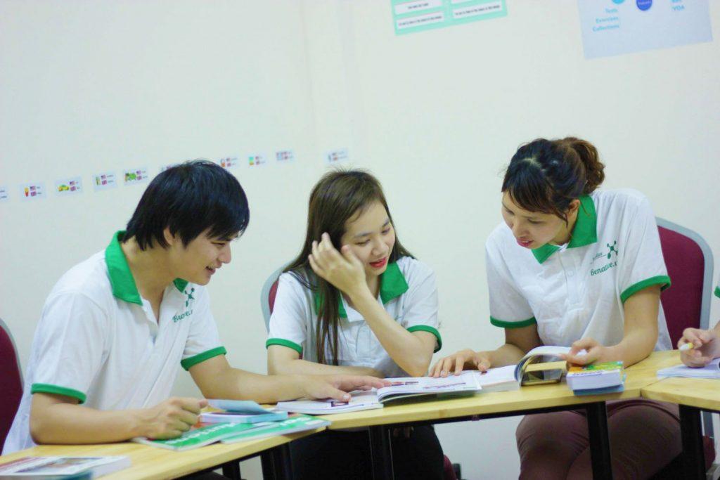 Lớp học tiếng Anh cho người đi làm