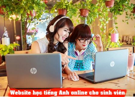 website học tiếng Anh online cho sinh viên