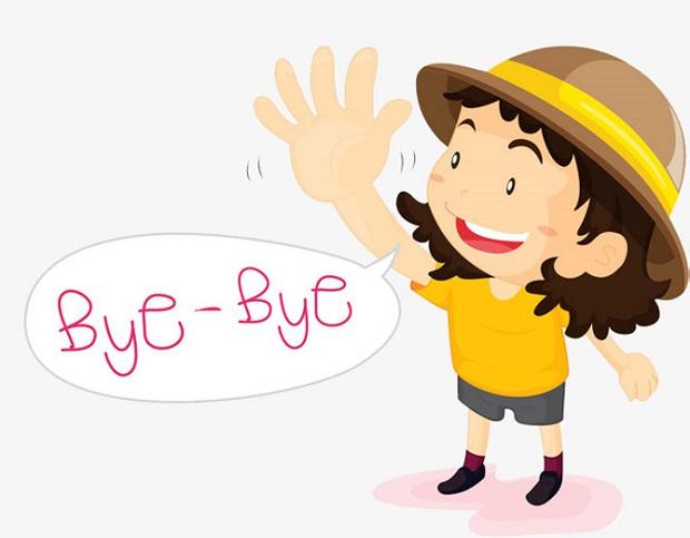 Mẫu câu tiếng Anh giao tiếp chủ đề Chào tạm biệt