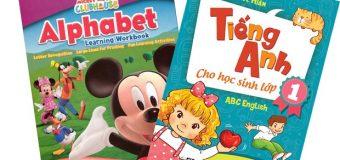 Sách học tiếng Anh cho trẻ em lớp 1 tốt nhất