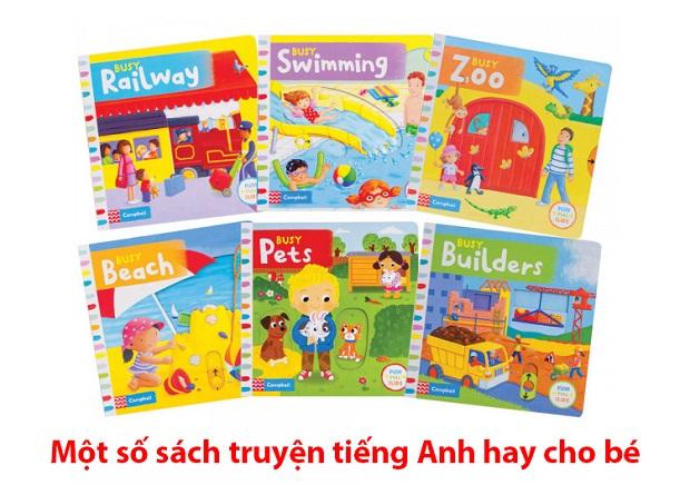 Một số sách truyện tiếng Anh hay cho các bé