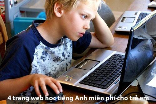 Trang web học tiếng Anh miễn phí cho trẻ em
