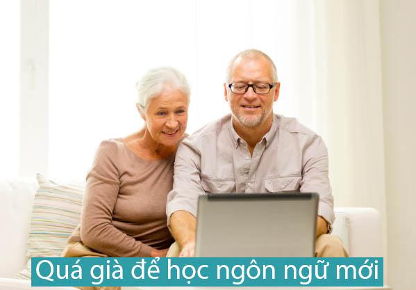 Học tiếng Anh cho người già
