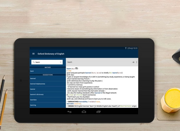 Phần mềm Oxford Dictionary
