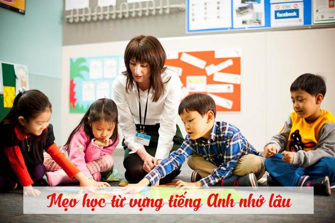 Mẹo học từ vựng tiếng Anh nhớ lâu
