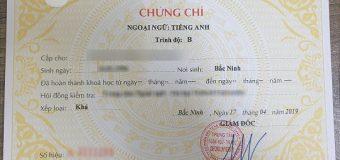 Bộ GD&ĐT chính thức bỏ cấp chứng chỉ ngoại ngữ A,B,C