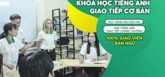 Khóa học tiếng Anh giao tiếp cơ bản tại Benative